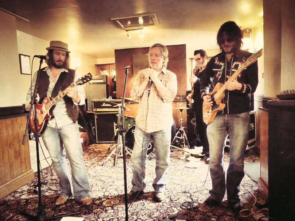 Jack J Hutchinson Band at Colne Blues 2014